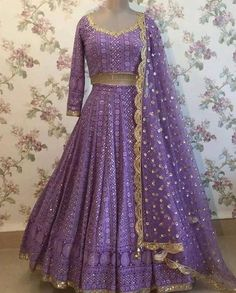 Lehenga Choli are the most preferred Indian Ethnic Wear for Woman. This Pale Turquoise Blue Thread Sequins Work Lehenga Choli is unique color and style. Lehnga Dress, Lehenga Blouse, Red Lehenga, Sari, Lehenga Choli, Lehenga Skirt, Lehenga Style, Indian Bridal Lehenga, Indian Bridal Wear