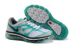 promo code 7e3a7 ee8d2 Nike Air Max 2012 Pure Platinum Black Stadium Green Women s Shoes  cheap