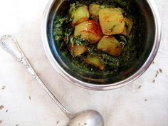 Mummy, I can cook!: Stinging Nettle Saag