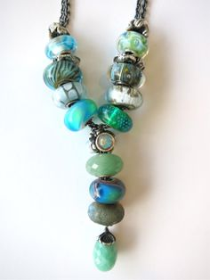 Day 8 of the Trollbeads Challenge... a Fantasy Necklace Design by Cathy at bd2f14a4713e9