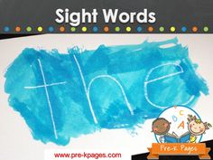 Ideas and activities for teaching sight words