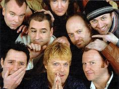 Steve Pemberton, Dylan Moran, Bill Bailey, Tommy Tiernan, Eddie Izzard, Boothby Grafoe and Mark Gatiss.