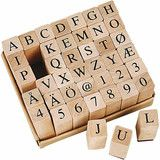 ✿ Stempels Cijfers en Letters   Made by Me! Arts & Crafts