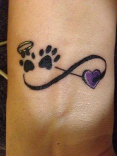 For the past and present pups Mini Tattoos, Wrist Tattoos, Dog Tattoos, Animal Tattoos, Cute Tattoos, Beautiful Tattoos, Body Art Tattoos, Small Tattoos, Sleeve Tattoos