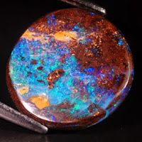 Australian boulder opal for one of my creations