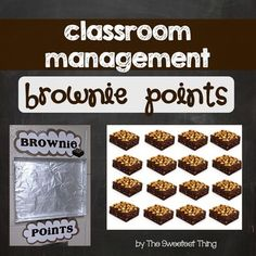 When other teachers/administrators in the building compliment our class, we get to add a brownie to our cookie sheet. Once we reach our goal (probably around 20), the teacher (ME!) will bake some gooey brownie goodness! I thought about buying a cookie sheet, but, as a new teacher with an invisible budget, I got crafty and covered the top of a box of page protectors with foil.