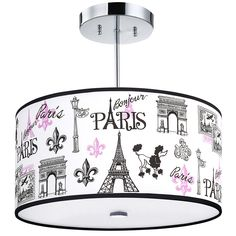 C'est La Vie, Paris Light Fixture, - Our C'est La Vie, Paris Light Fixture with pink and black French themed accents is a sophisticate - Paris Room Decor, Paris Rooms, Plywood Furniture, Design Furniture, Furniture Decor, Paris Nursery, Pink Paris Bedroom, Nursery Room, Girl Nursery