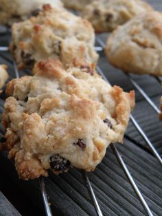 Rock Cakes (cookies) ~ a recipe from the World War II era, when food staples were often rationed or in scarce supply