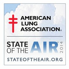 "How healthy is your air? See for yourself in our 15th annual ""State of the Air"" report: www.stateoftheair.org #stateoftheair"