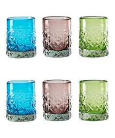 Look what I found on #zulily! Aruba Double Old-Fashioned Glass - Set of Six…