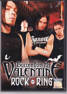 BULLET FOR MY VALENTINE Rock Am Ring 2013 Germany PAL Region All Free Shipping
