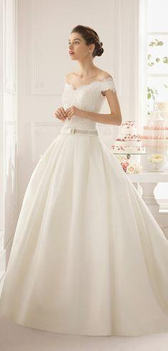 Hermoso vestido de Novia colección de Rosa Clará 2015