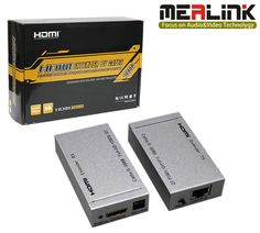 60m HDMI Extender Over Single Cat5e/6 Cable, 3D Supported