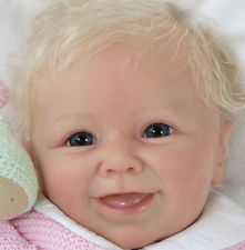 New Reborn Baby Doll Kit Moritz By Linde Scherer @New Light Vinyl Doll Kit@ 22""