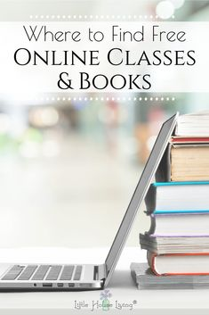 Where to Find Free Online Classes and Books – Little House Living Where to Find Free Online Classes and Books – Little House Living,Books/free college courses/ other free courses Looking for something new to. Free College Courses, College Classes, Free Courses, Online Courses, Little House Living, Freebies By Mail, Life On A Budget, Free Books Online, Paper Book