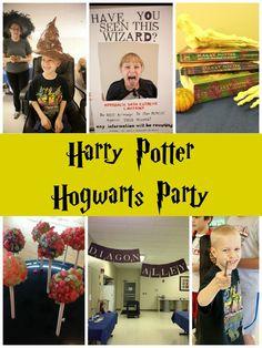 Harry Potter Hogwarts Party