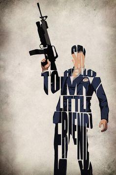Tony Montana - Scarface - Level Frames