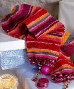 Socken mit Fußkette, 5841 - Gratisanleitung