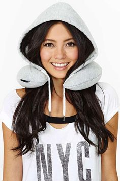 Stay Hood Travel Pillow