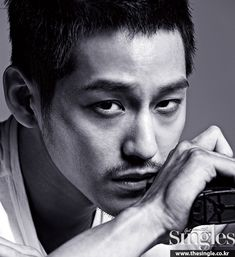 He's back on TV with tvN's Hidden Identity, and giving more press for his drama, Kim Bum, 'stache I'm not loving, appears in the next month's Singles'. Check it! Lee Jin Wook, Choi Jin Hyuk, Choi Seung Hyun, Jang Hyuk, Asian Actors, Korean Actors, Asian Celebrities, Celebs, Hidden Identity