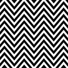 Pattern Pieces - Chevron - blackest black - Sprik Space - 2400x2400px