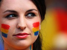 If you have access to some basic face paints, you can represent any country you wish on March Around the World Monday! City People, People Of The World, First World, Around The Worlds, Places, Moldova, Homeland, Awesome, Amazing