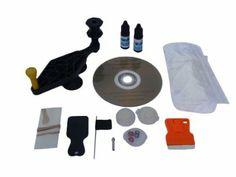 Crack Eraser: Do It Yourself Windshield Chip and Long-Crack Repair Kit. Repair 60 chips and 10 long-cracks : Amazon.com : Automotive