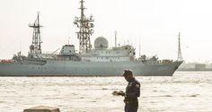 DEVELOPING: Russian Spy Ship Returns Off U.S. Coast, Approaches Sub Base