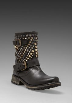 STEVE MADDEN Marcoo Boot in Black Multi at Revolve Clothing - Free Shipping!