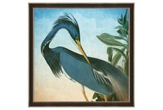 "Audubon, Heron, One Kings Lane, $189-279, 22""-32"" square."