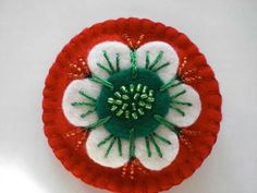 Wool Felt, Needlework, Ornaments, Diy Ideas, March, Projects, Embroidery, Dressmaking, Couture