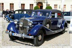1938 Maybach SW 38 Cabriolet Viertürer (01) - http://www.gucciwealth.com/1938-maybach-sw-38-cabriolet-vierturer-01/