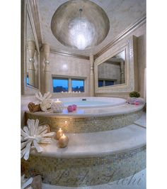 Unique and luxurious bathroom spa