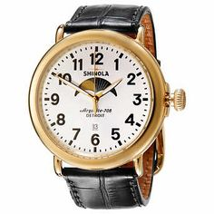 Shinola Runwell Stainless Steel Moon Phase Men's Watch