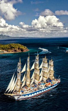 Sailing vessels the world over. Tall Ships, Old Sailing Ships, Ocean Sailing, Full Sail, Wooden Ship, Sail Away, Set Sail, Submarines, Water Crafts