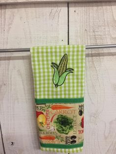 Check it out! Corny Kitchen Towel at www.jendyandfriends.com