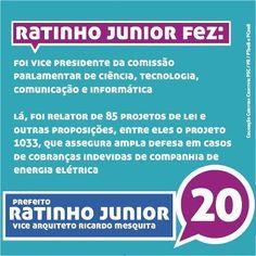 Nesta segunda iniciamos também a semana da Ciencia e Tecnologia, e compartilhamos um pouco do trabalho de Ratinho Junior como vice presidente da Comissão Parlamentar de Ciência, Tecnologia, Comunicação e Informática. #onda20 #equipenovasideias