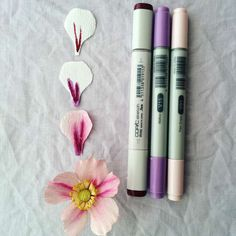 How to make crepe paper flowers with copic markers pinterest imagination international inc your place for professional creative tools mightylinksfo