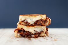 French Onion Soup Grilled Cheese 6