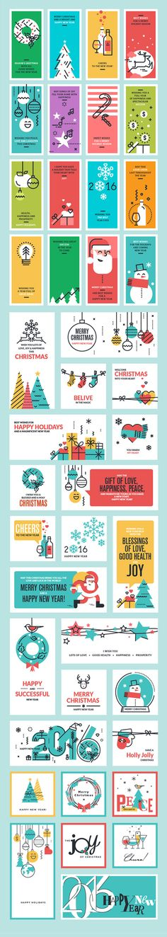 Christmas Cards and Banners Bundle ~ Illustrations on Creative Market