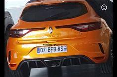 2018 Renault Sport Mégane: uscita online la prima immagine