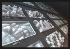 Three dimensional representation of Cinema Noise Palette by Mario Tran Phuc Cinema 4d Tutorial, Animation Tutorial, Pixel Sorting, Rendering Art, Digital Cinema, Digital Art, Palette, Art Challenge, You Gave Up