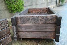 木製プランター2
