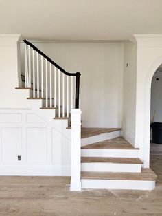 light floors black rail