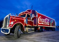 Macht einem lieben Menschen eine Freude!  Ein Mensch, der euch sehr am Herzen liegt, möchte schon immer mal in einem Coca-Cola Weihnachtstruck! #Yes