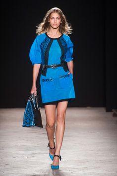 Défile Angelo Marani Prêt-à-porter Printemps-été 2014 - Look 10