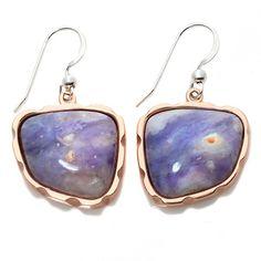 Jay King Jalisco Lavender Opal Drop Earrings