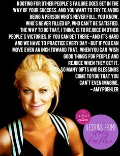 inspired by charm: Lessons From: Amy Poehler