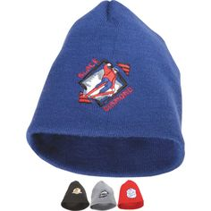 Enhance your promotion starting from the top! This 100% acrylic knit beanie provides an excellent backdrop for displaying your brand. Available in your choice of bold color, customize this gift using the available imprint method to add your corporate image and logo. What a terrific way to promote your brand during upcoming fundraisers, sporting events, tradeshows, expos and more! Enjoy hats off to your business by investing today!