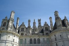 Château de Chambord Detail (Chambord, France) by courthouselover, via Flickr
